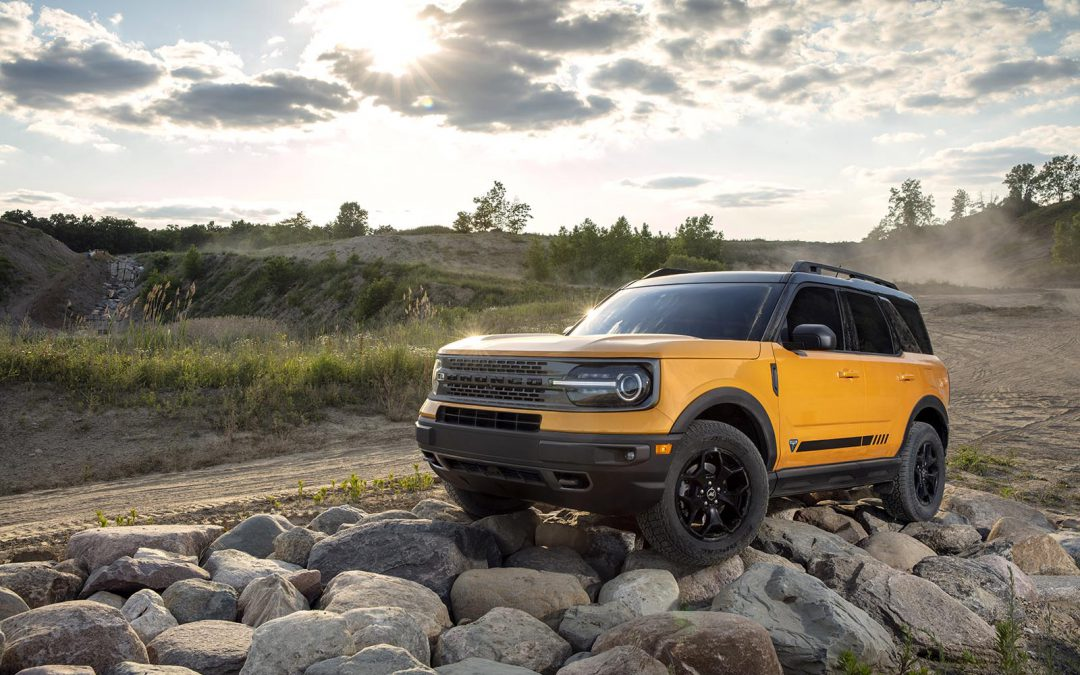 First Look: 2021 Ford Bronco Sport