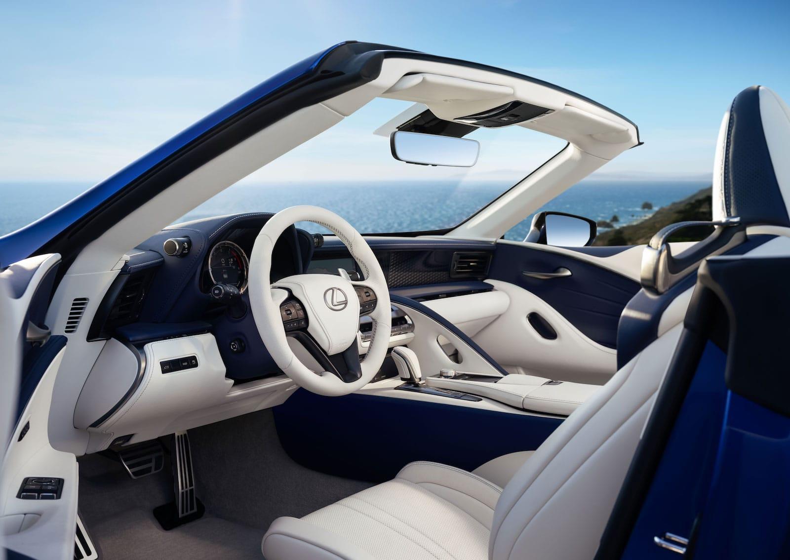 first drive: 2021 lexus lc 500 convertible
