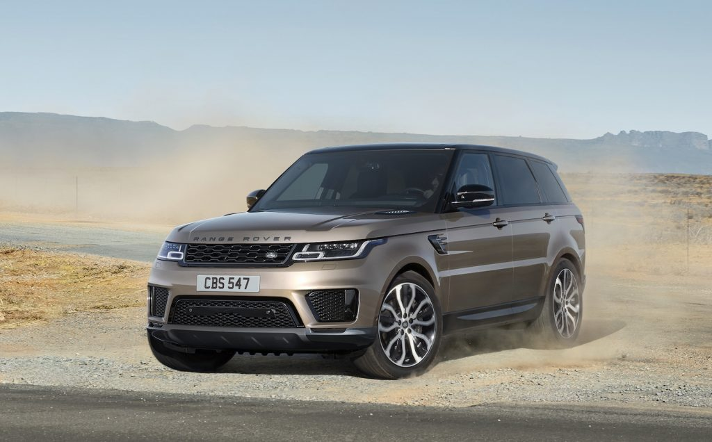 2021 Range Rover Sport HSE Silver