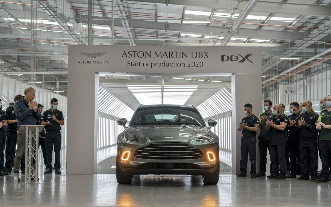 Aston Martin Joins the Club, Debuts DBX Luxury Ute