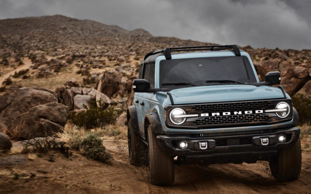 First Look: 2021 Ford Bronco