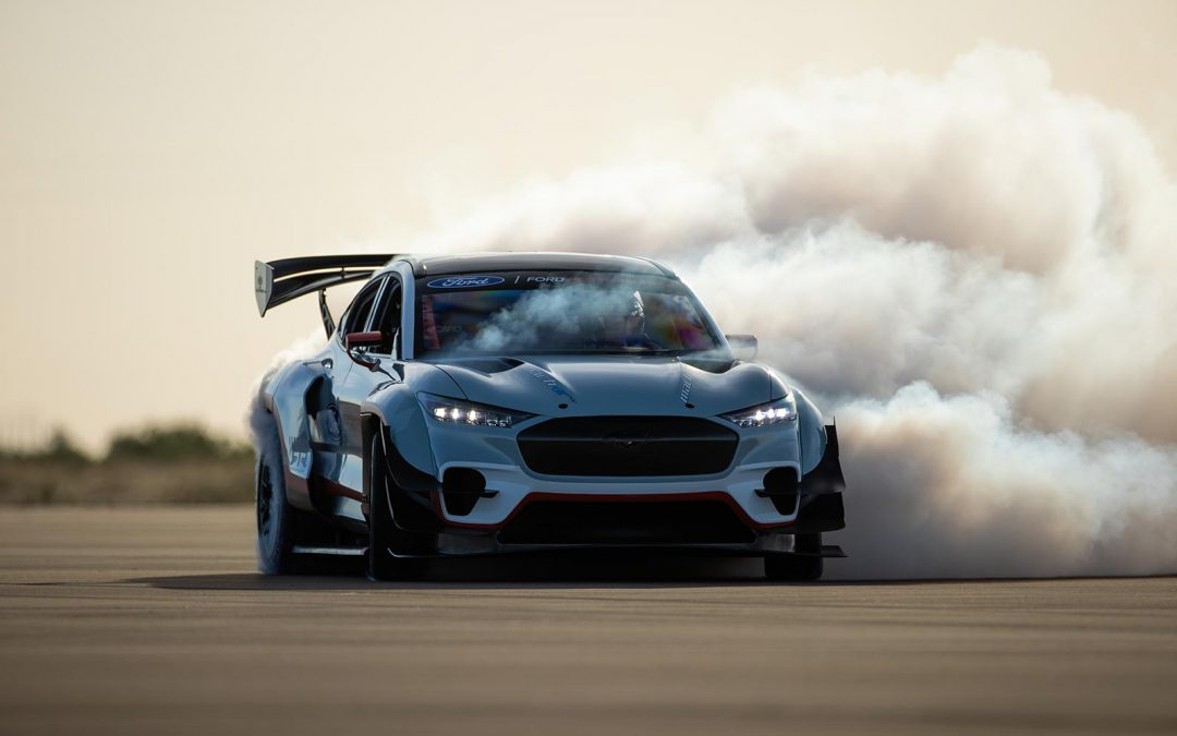 Ford Pumps Mustang Mach-E Up to 1,400 HP With Track Car