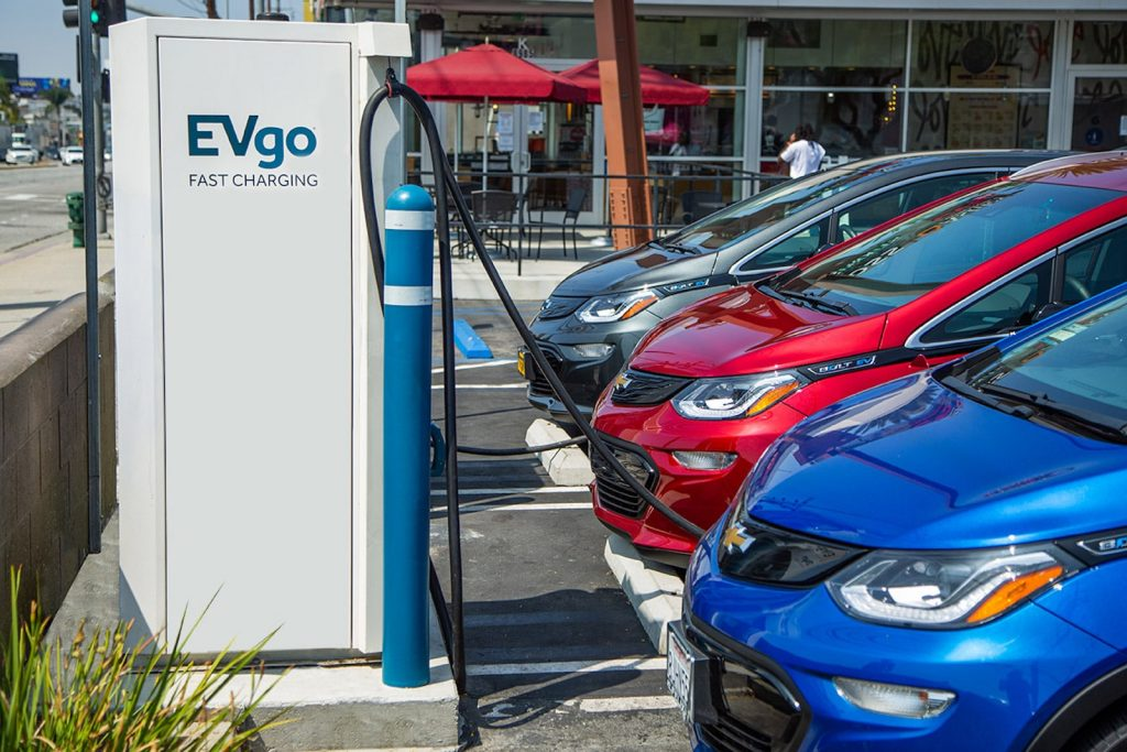 GM and EVgo deal