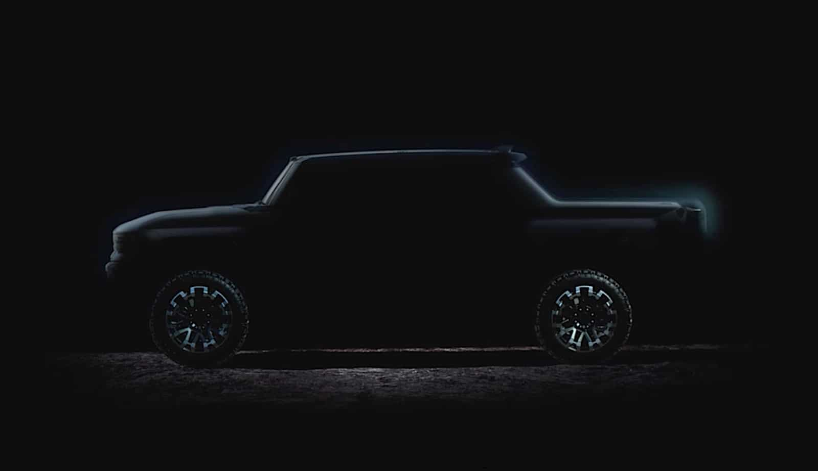 "GM's latest promo video for the GMC Hummer reveals its ""coming this fall."""