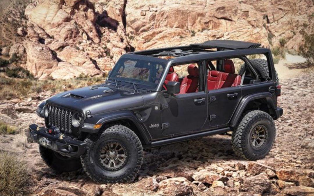 Jeep Grabs the Spotlight With Wrangler Rubicon 392 V8 Concept