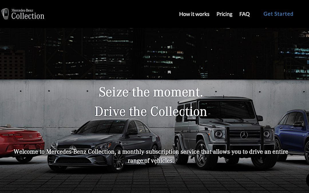 Mercedes Kills Collection Subscription Service – Will Others Follow?