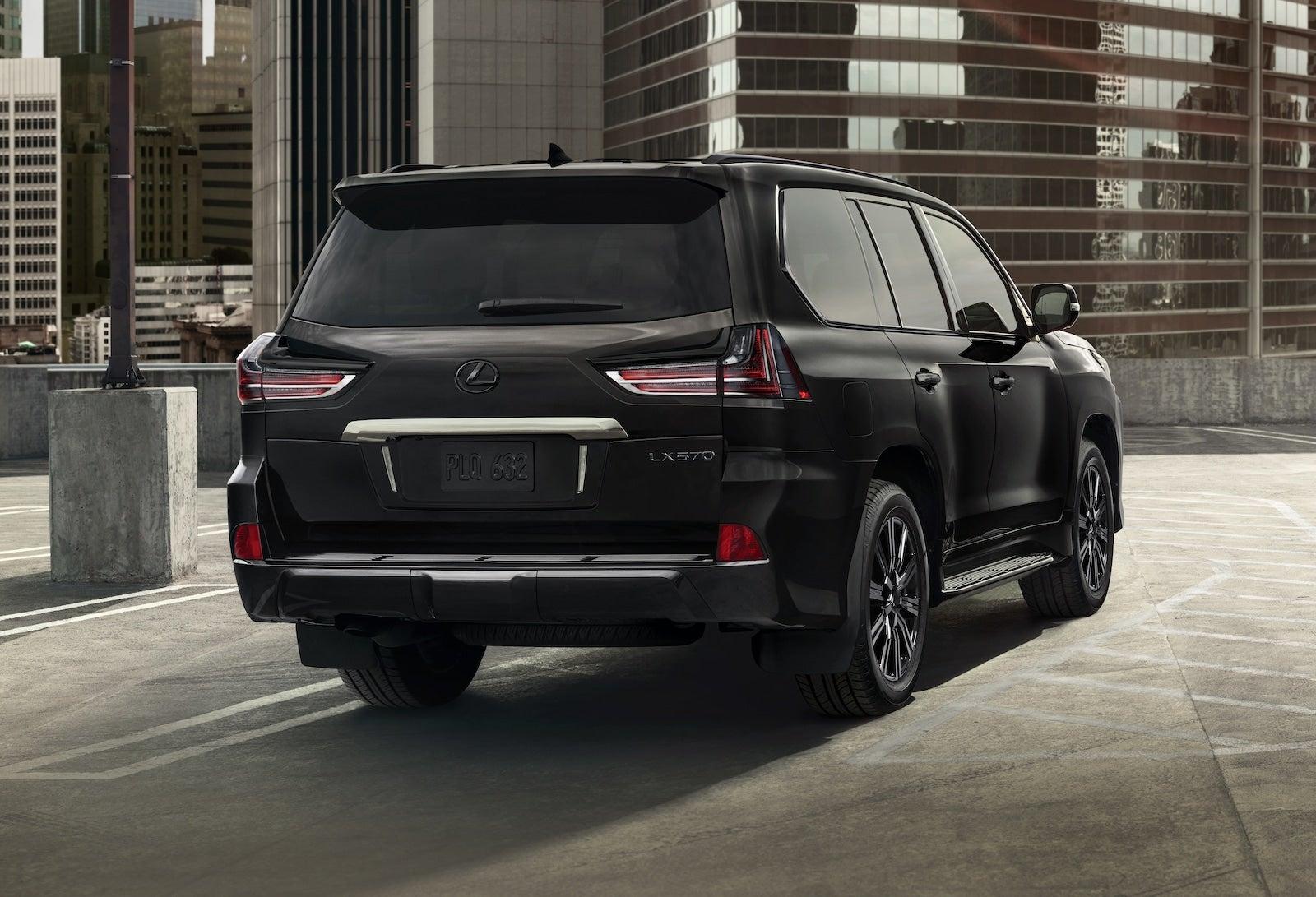 Lexus Upgrades The Lx 570 For 2021 Model Year The Detroit Bureau