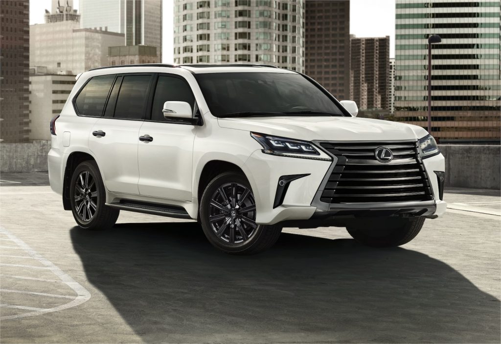2021 Lexus LX Inspiration front