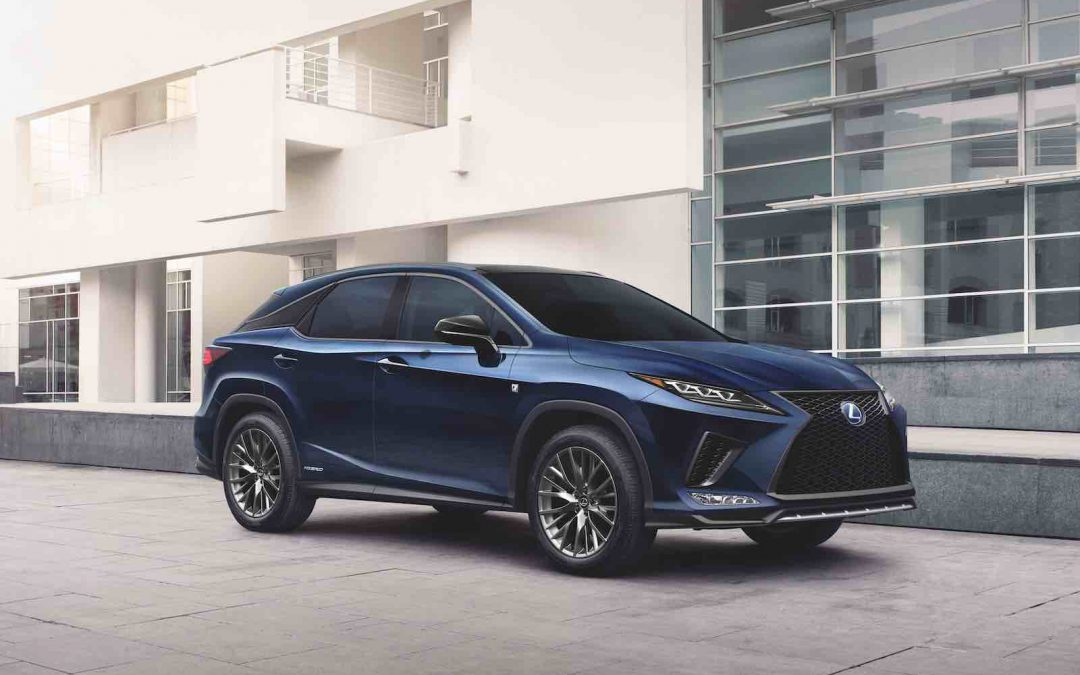 Lexus Upgrades RX Driver Assistance Features for 2021