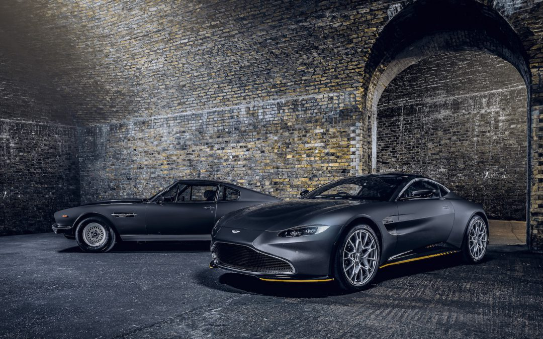 Aston Martin Celebrates New Bond Film with Two Special Editions