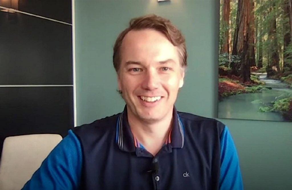 Aurora CEO Chris Urmson 2020