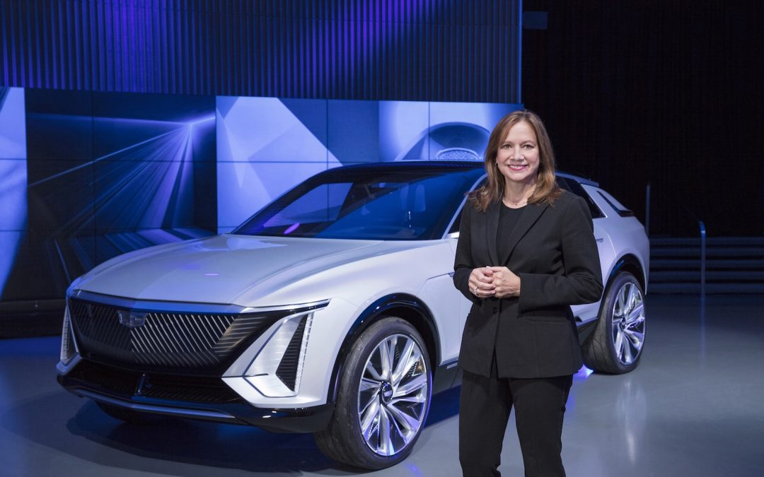 "GM CEO Barra Tells Analysts Company Will ""Win"" in EVs"