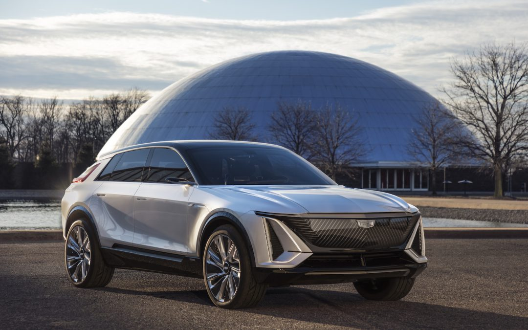 Electrifying! Cadillac Debuts All-New Long-Range Lyriq EV