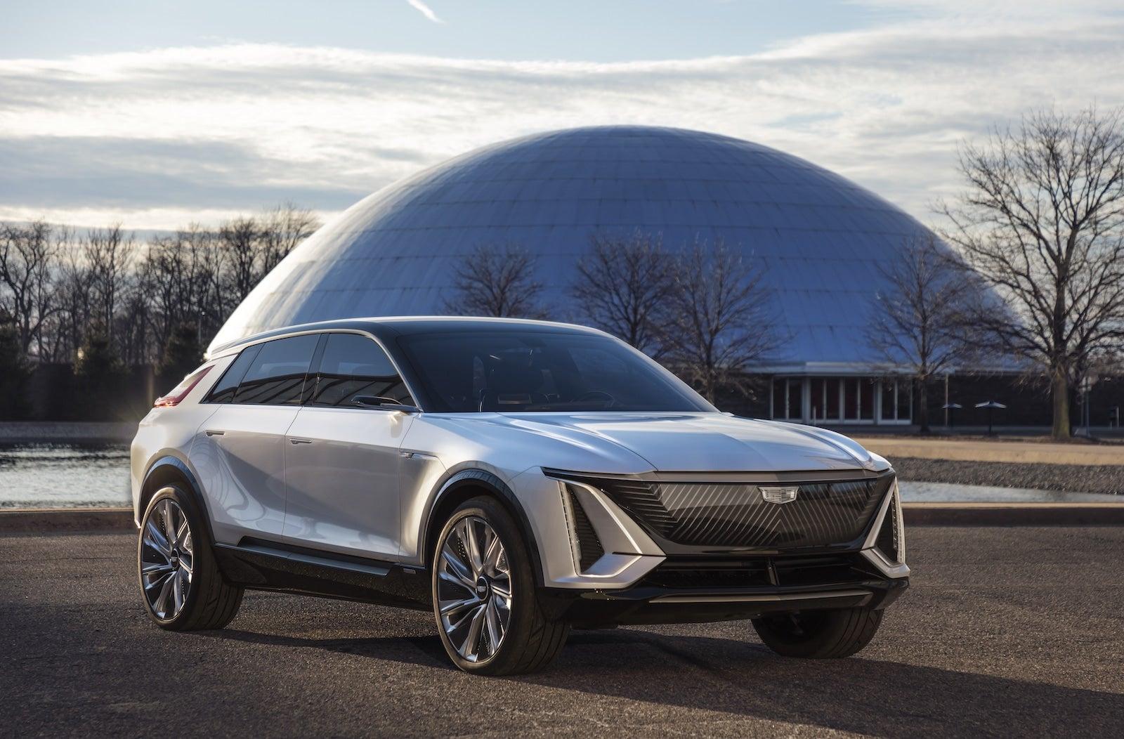 2020 - [Cadillac] Lyriq - Page 2 Cadillac-Lyriq-at-Design-Dome