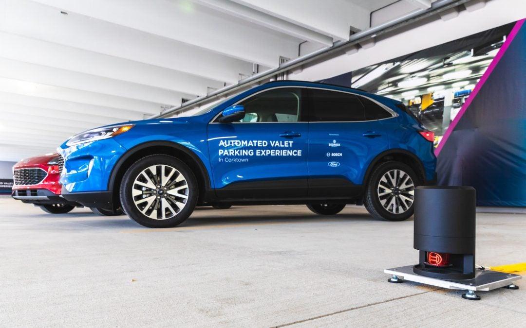 Ford, Bosch Partner on Autonomous Parking Technology