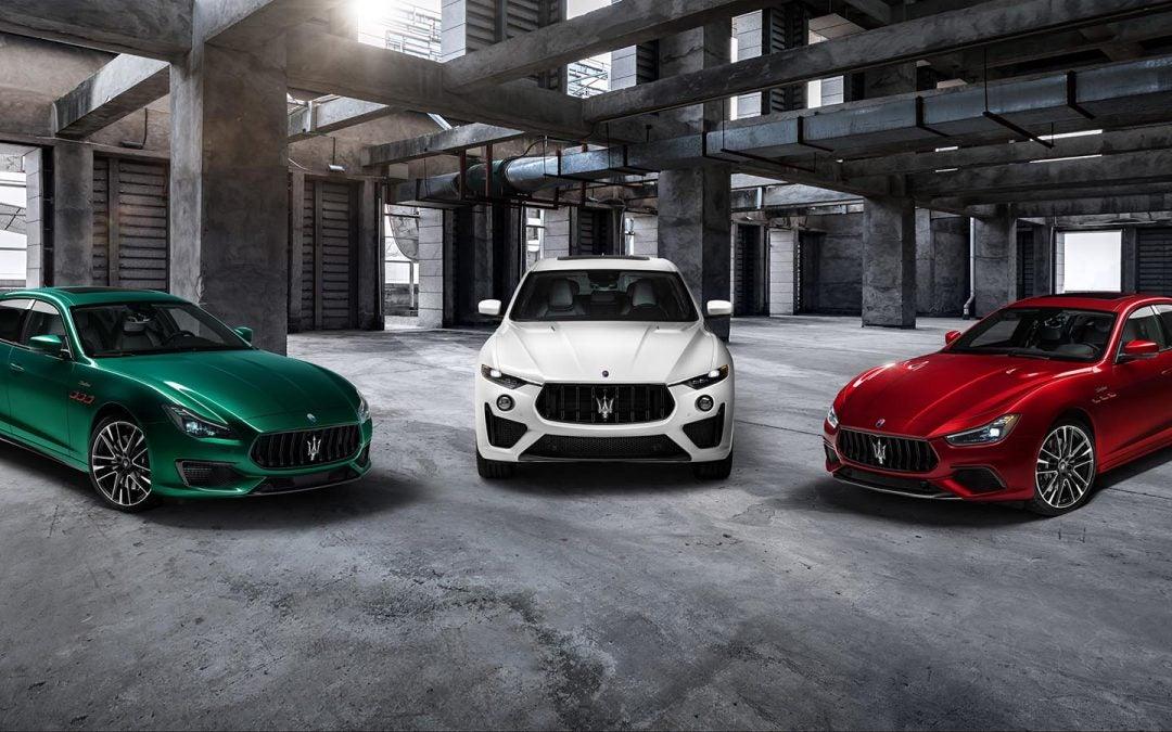 Maserati Now Offers a Trio of Trofeos