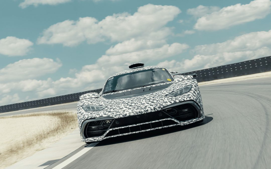 Mercedes-AMG Project One Hypercar Caught Testing