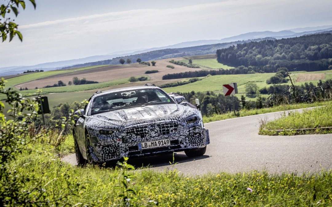 Mercedes Offers Look at Pre-Production AMG-Powered SL Model