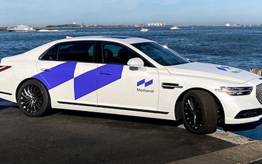 Hyundai and Aptiv Name AV Venture: Motional