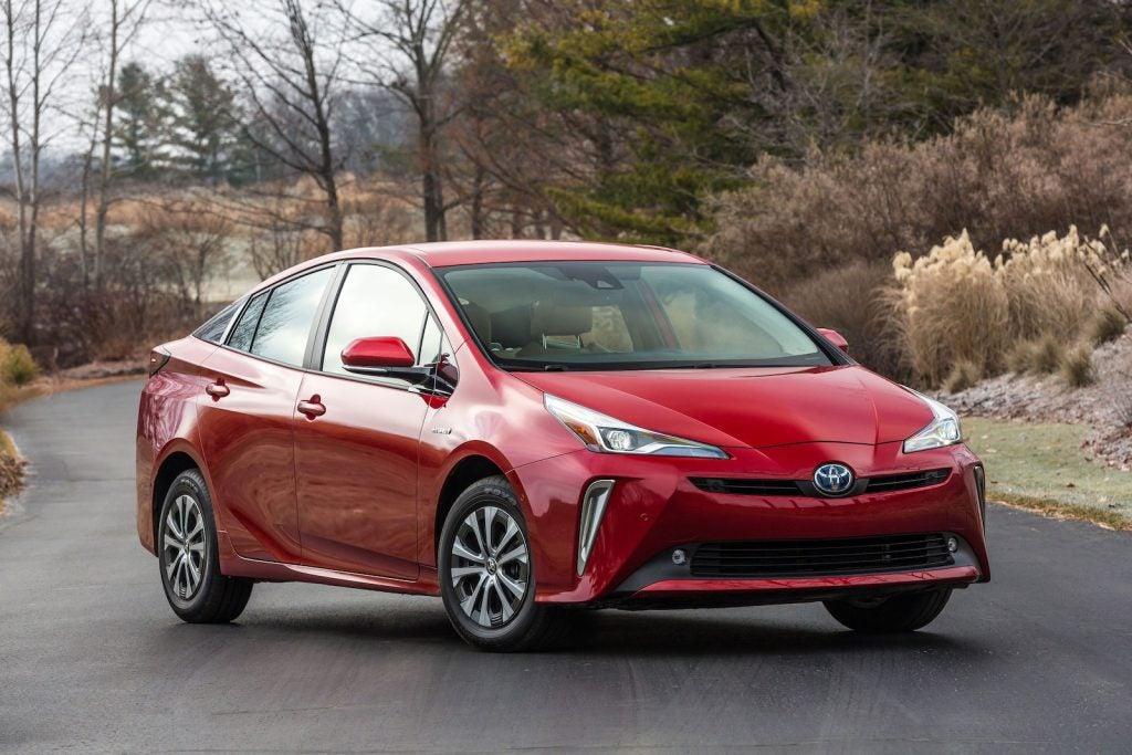 2020 Toyota Prius XLE front
