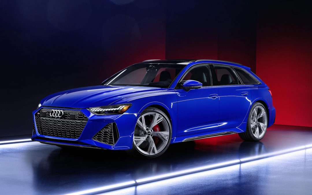New Audi RS 6 Avant Carries on Tradition of High-Performance Wagons