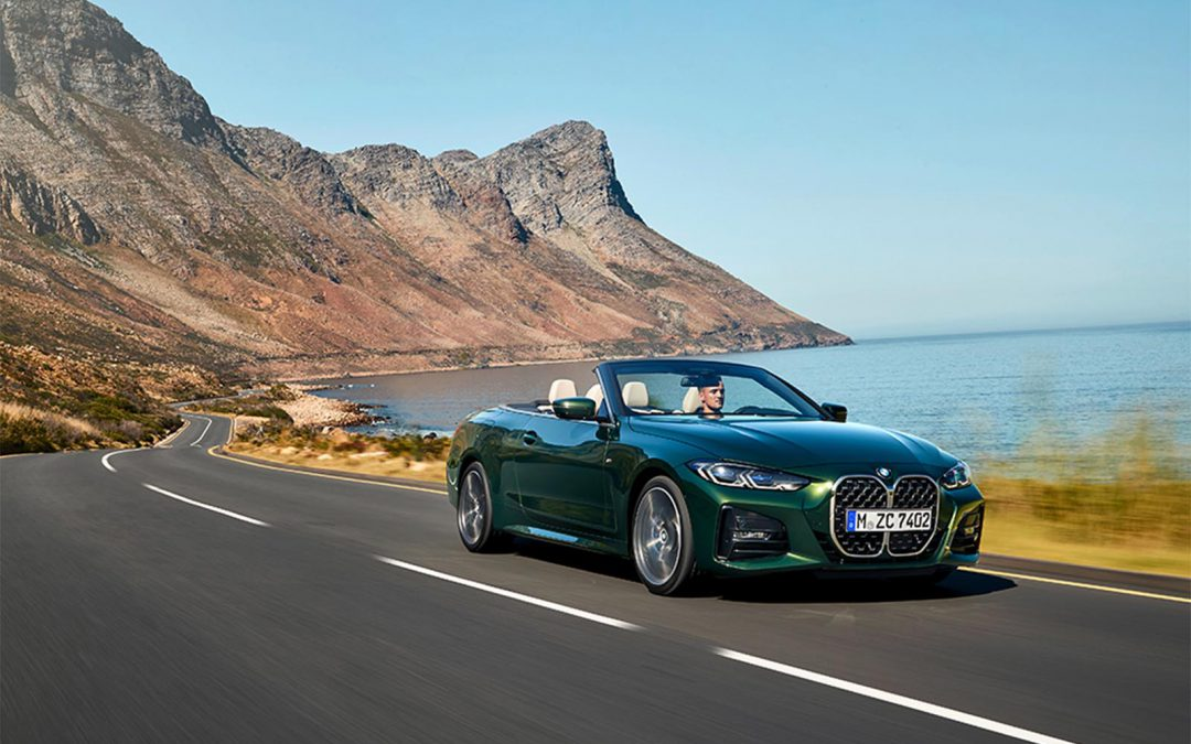 BMW Rolls Down the Top with New 4-Series Convertible