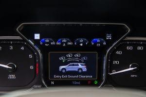 2021 GMC Yukon Denali gauges
