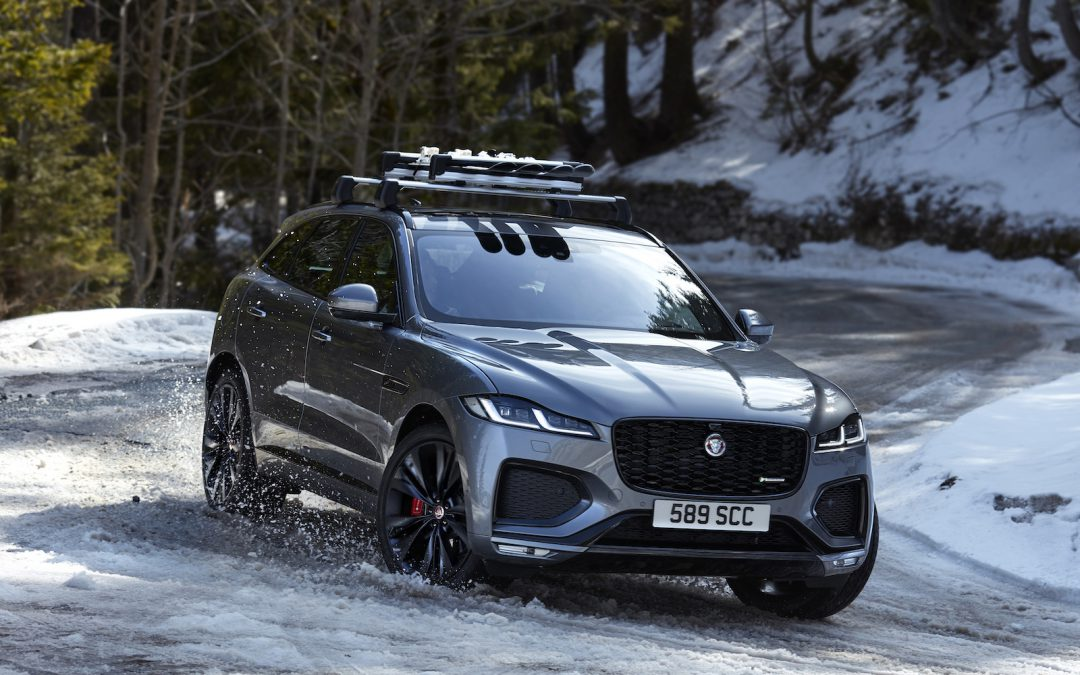 First Look: 2021 Jaguar F-Pace