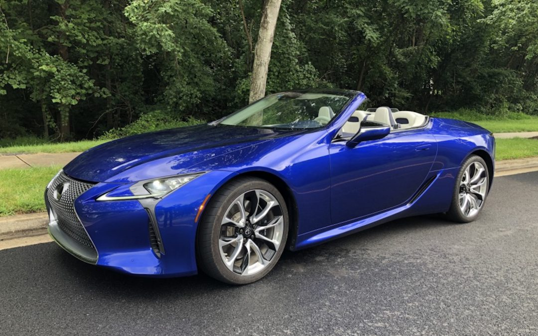 Guest Review: Did Lexus Replicate the Formula 1 Formula with the 2021 Lexus LC 500 Convertible?