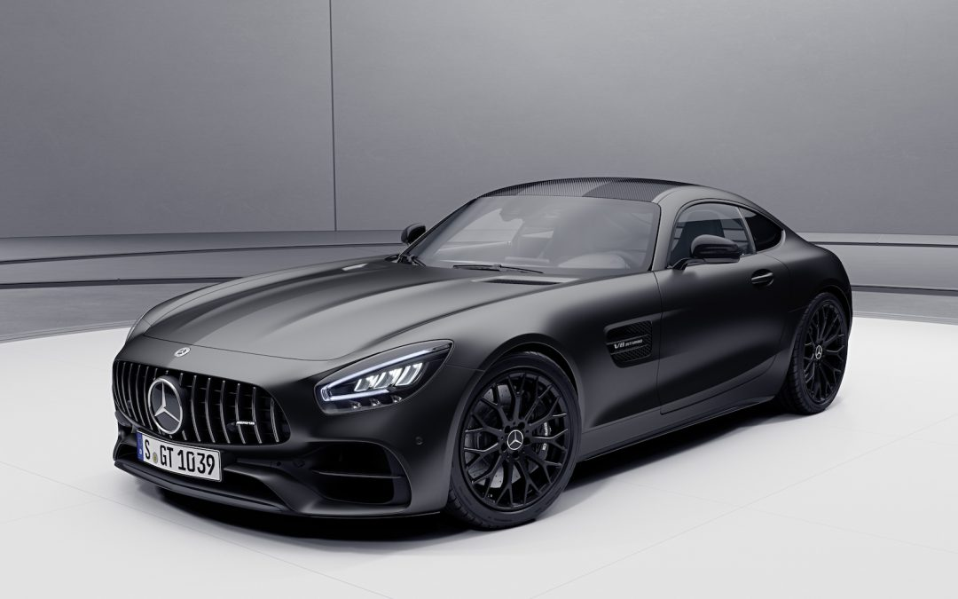 Mercedes Shows Off New 2021 AMG GT Stealth Edition