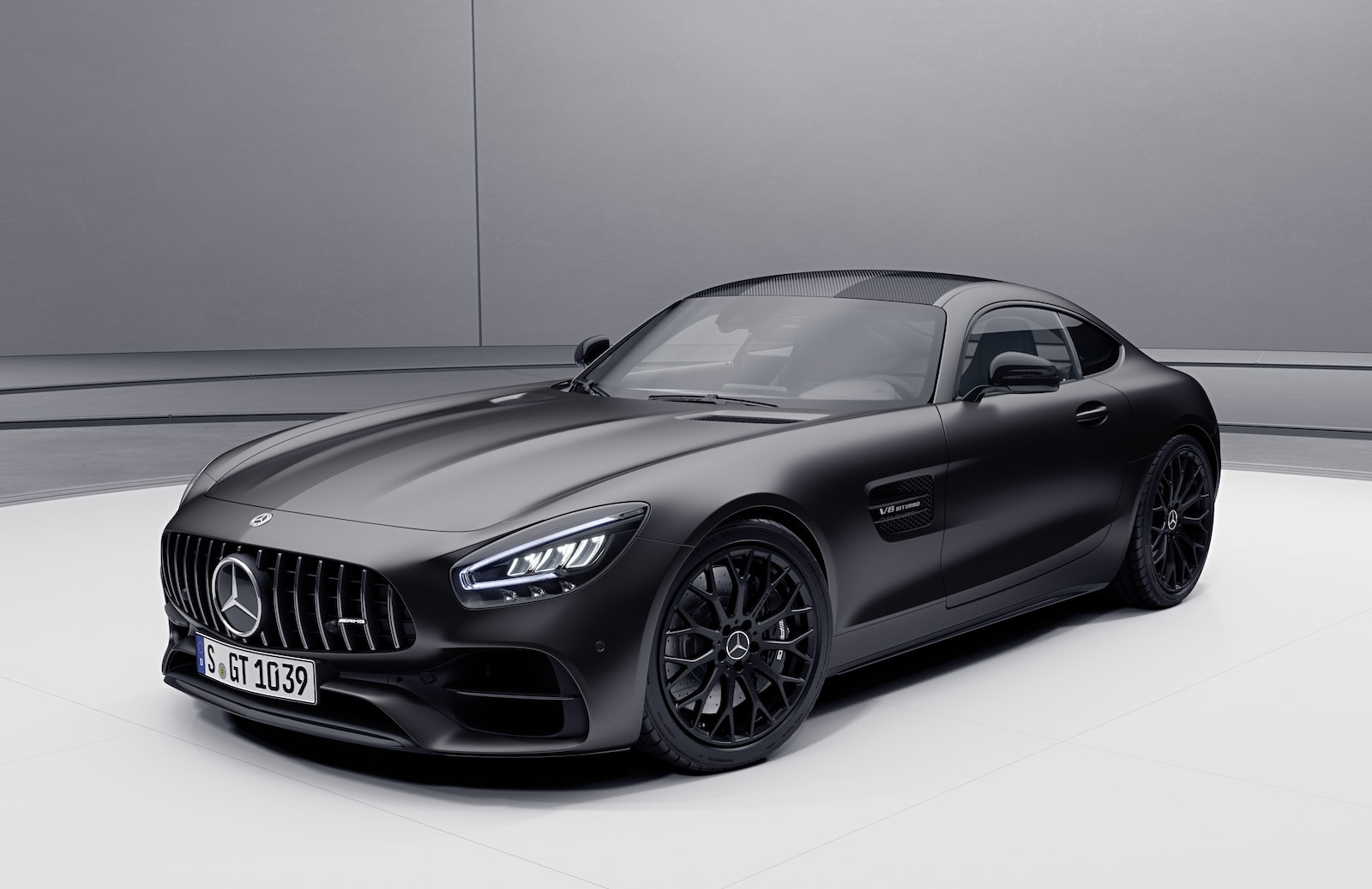 Mercedes Shows Off New 2021 AMG GT Stealth Edition ...