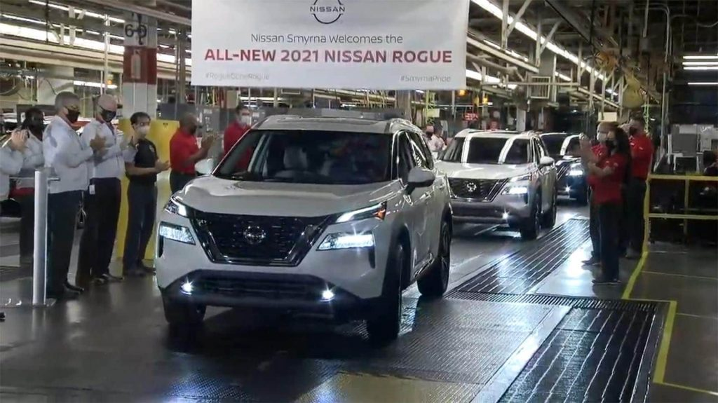 2021 Nissan Rogue - first off line in Smyrna