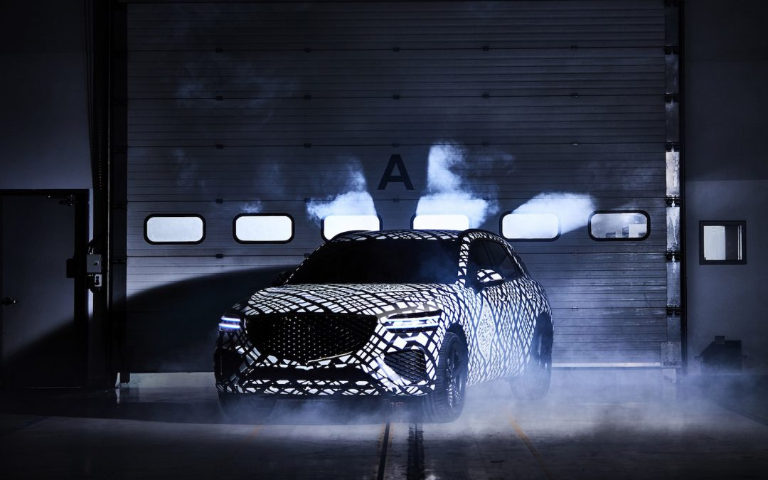 Genesis Unveils Teaser Look at new GV70 SUV