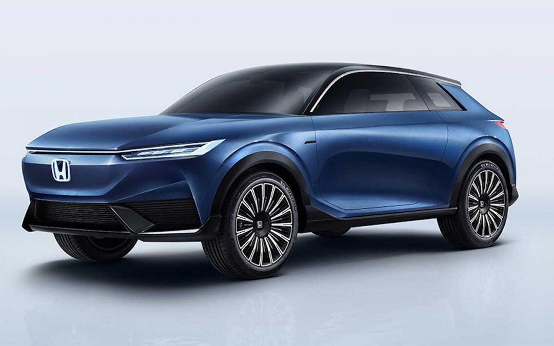 Honda Brings E:Concept SUV to Beijing Motor Show