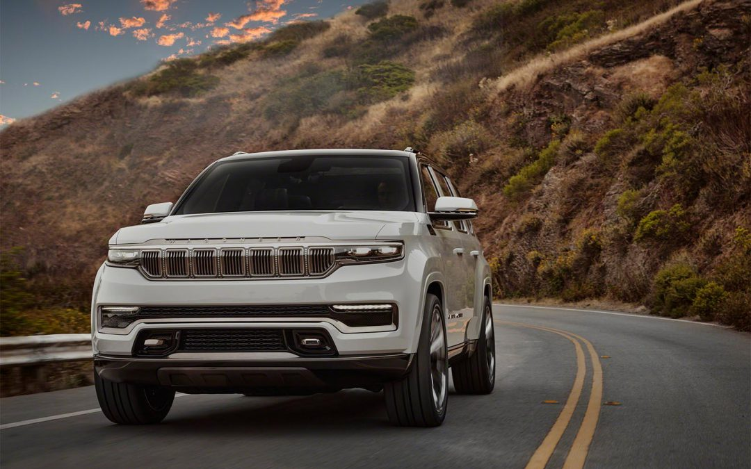 Jeep Rolls Out New Grand Wagoneer Concept