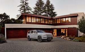 Jeep Grand Wagoneer Concept - side parked