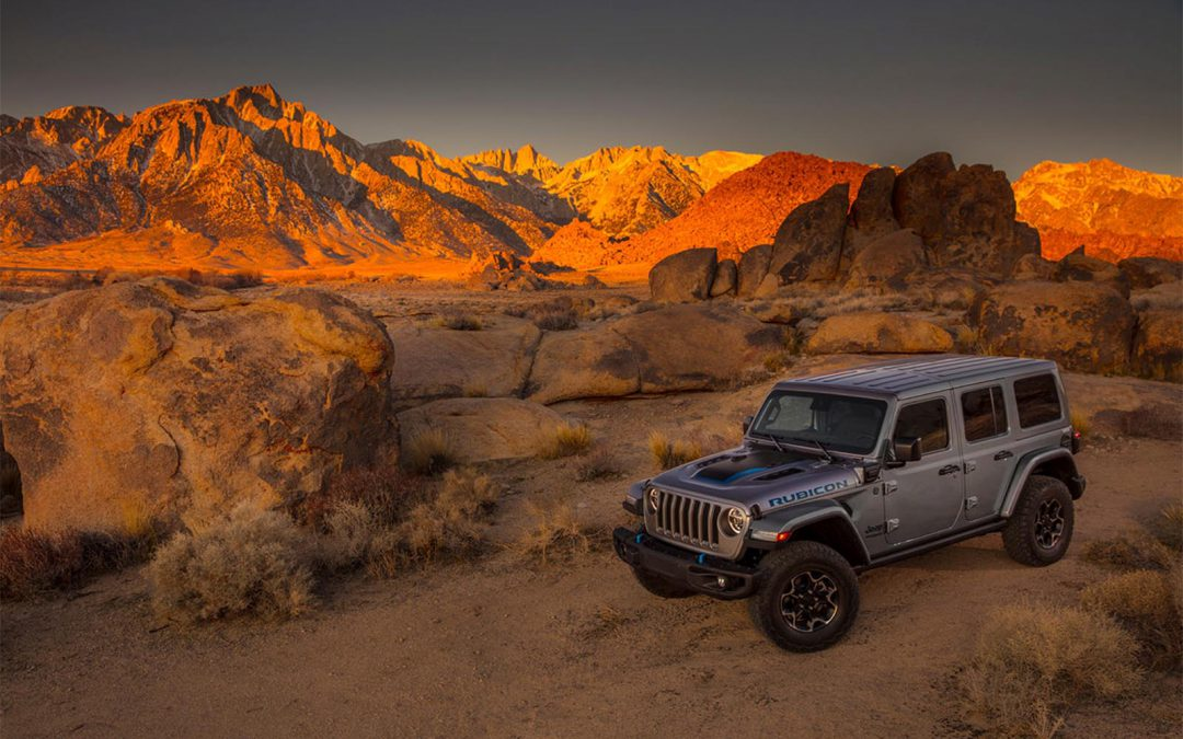 Jeep Electrifies With New Wrangler 4xe