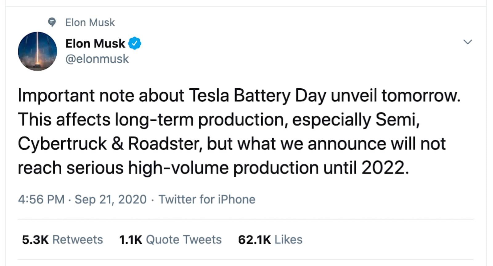 Where To Watch Tesla Battery Day