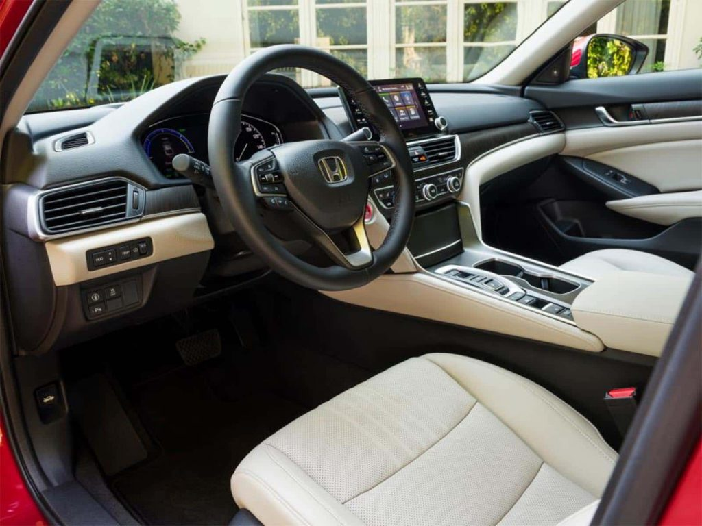 2021 Honda Accord Hybrid - interior