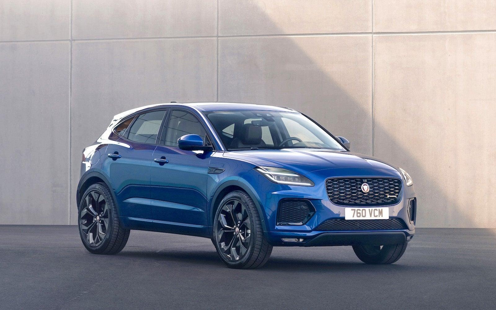 "2021 Jaguar E-Pace Gets ""Thorough Freshening"" - The ..."