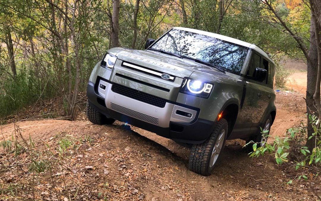 First Drive: 2020 Land Rover Defender 110 SE