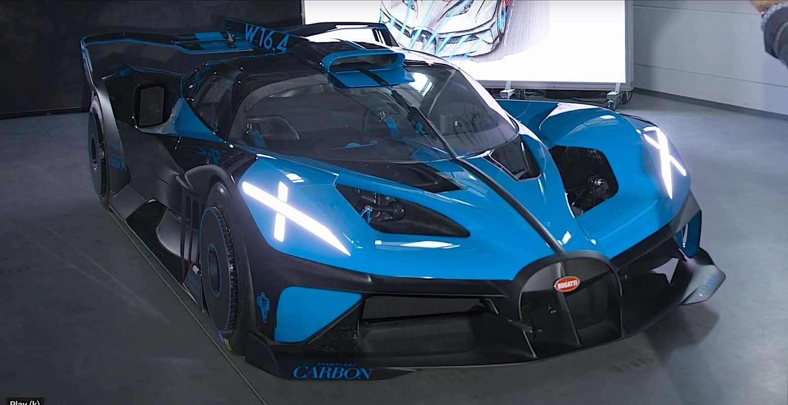 Bugatti Bolide Could Be French Marque S Next Hypercar The Detroit Bureau