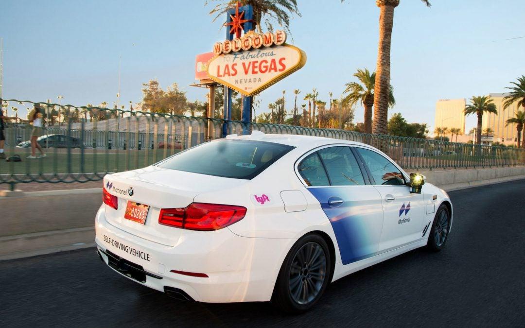 Lyft, Motional Resume Autonomous Test Fleet Testing in Las Vegas