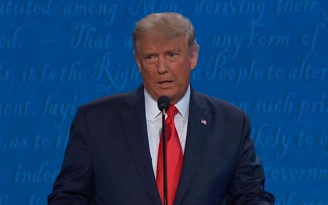 Biden, Trump Clash about Energy in Debate