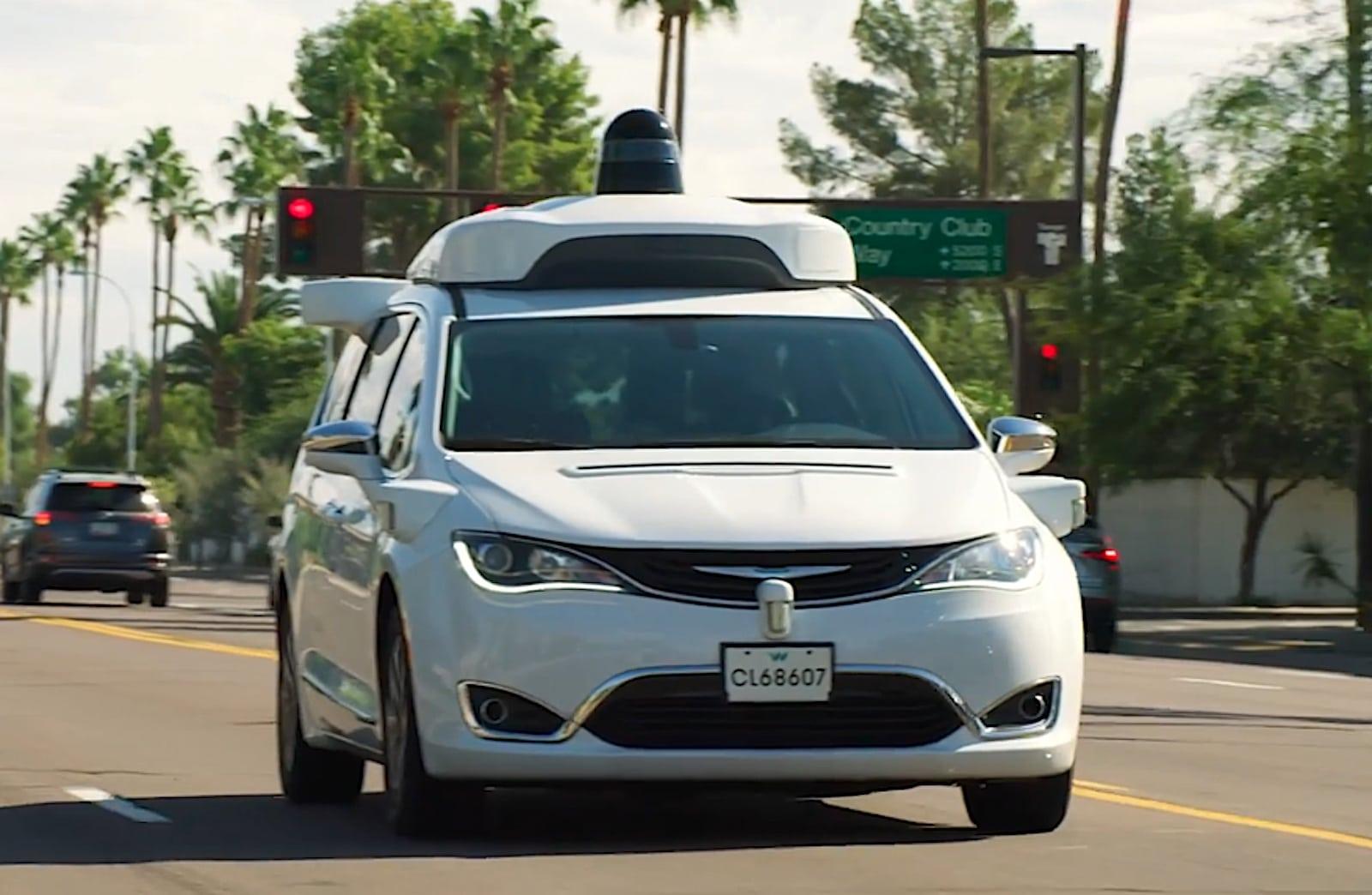 Waymo, the first robo-taxi