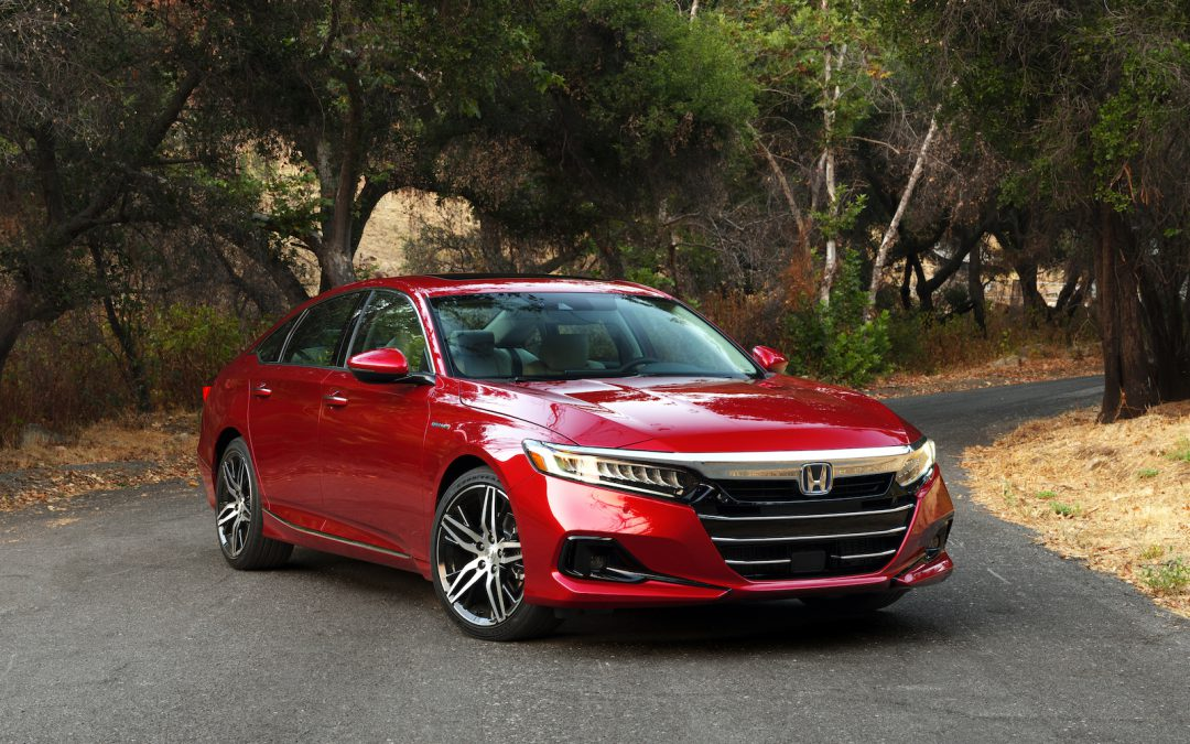First Drive: 2021 Honda Accord Hybrid