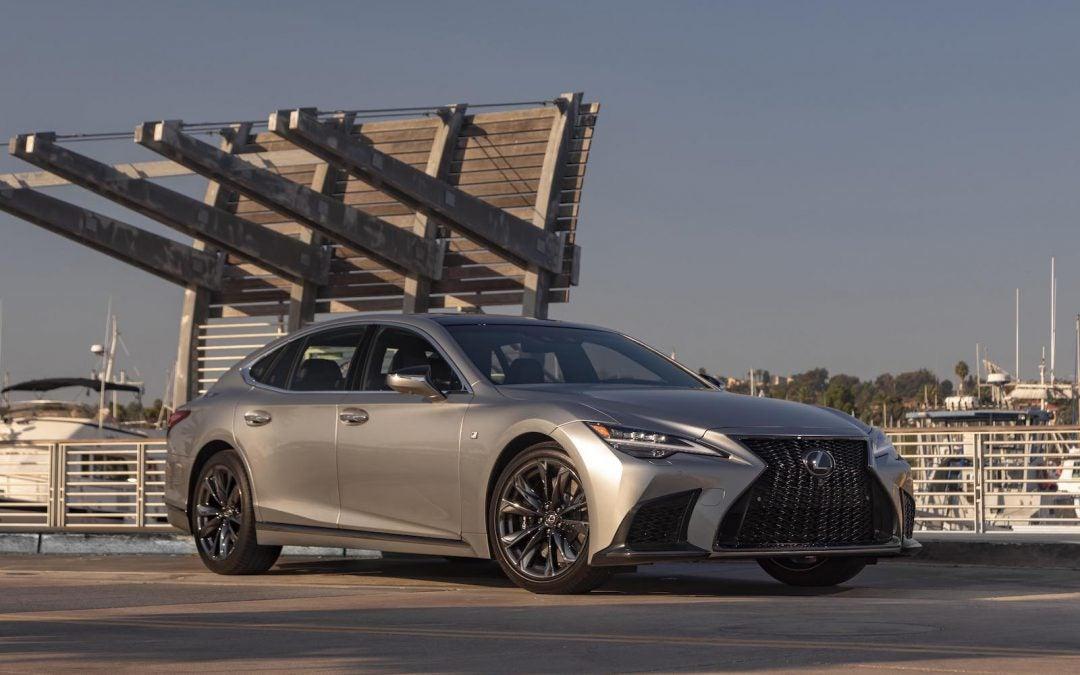 Lexus Updates Flagship LS for 2021 Model Year
