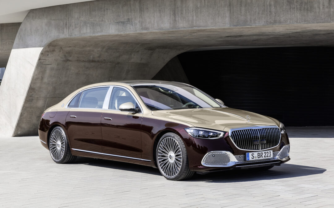 First Look: 2021 Mercedes-Maybach S580