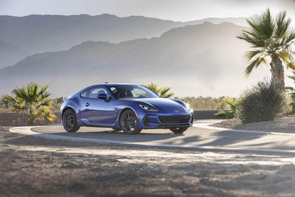 2022 Subaru BRZ - beauty shot