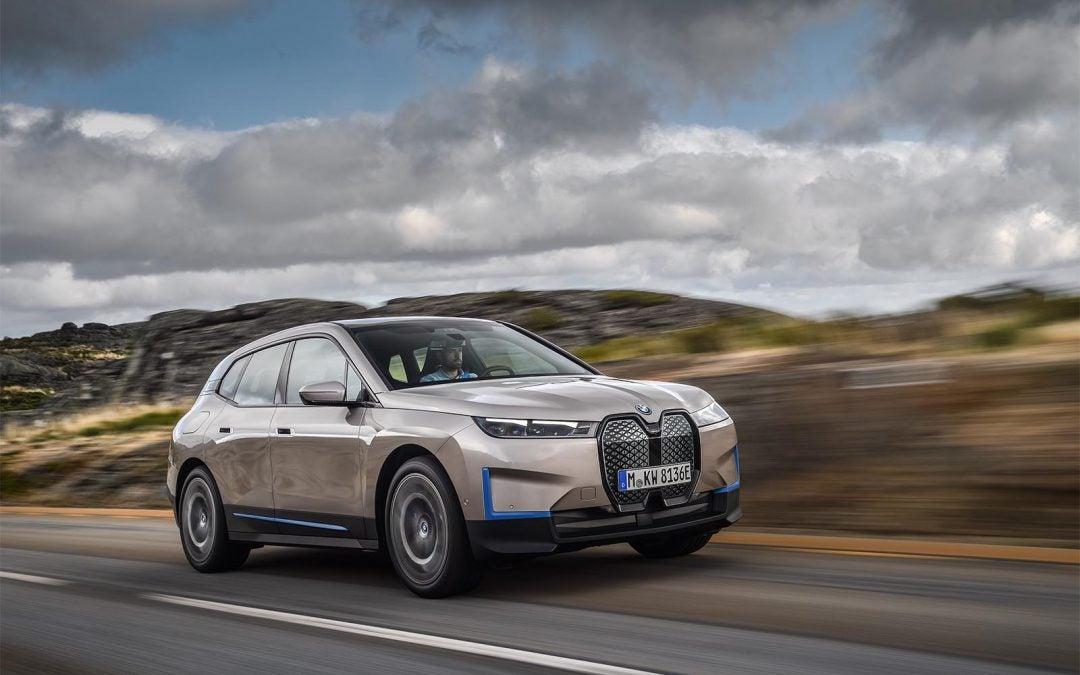 BMW's EV Flagship, 300-mile iX Makes its Debut